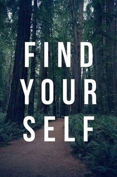 Find yourself on trail, on a bicycle, in a gym, in a pool. Just find yourself.