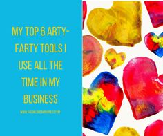 I have the artistic ability of a carrot yet I make amazing images for my blogs and social media - here are my 6 top arty farty tools for beginners!