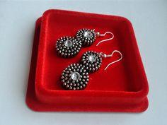kolczyki+Silver+Eight+w+mili+design+na+DaWanda.com