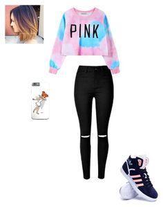 """""""Untitled #65"""" by msarayha ❤ liked on Polyvore featuring Chicnova Fashion, adidas, women's clothing, women, female, woman, misses and juniors"""