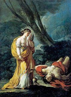 Francisco de Goya, Venus y Adonis. Museo de Zaragoza