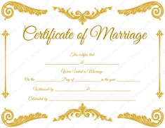 Free Printable Commitment Ceremony Certificates  Ceremony