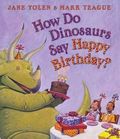 Surprise! Our bestselling little dinosaurs are back for a BIG birthday celebration! Everyone has a birthday, and from riotous birthday parties to the excitement of being one year older, having a birth