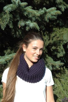 Two Friends - Lovers of Design - Creating products promoting true inner beauty - Walk To School, Chunky Knit Scarves, Winter Collection, Toast, Navy Blue, Cute Outfits, Product Launch, Knitting, Fall