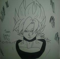 Goku #Wolfthekid