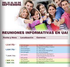 Universidad Abierta Interamericana – UAI  REUNIONES INFORMATIVAS.  Hacé tu consulta a un representante de #UAI y obtené mayor información sobre las carreras y cursos, ingresando en el siguiente link: http://quevasaestudiar.com/estudiar-en-Universidad-Abierta-Interamericana-16