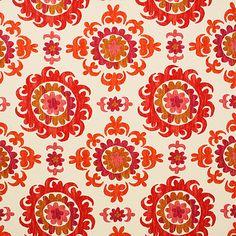 Pindler Fabric Pattern #P3060-Petra, color Garnet www.pindler.com
