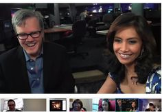 "Director of ""The Artist"" was on FOX 11 LA today and was interviewed. I just love Google+ Hangouts On Air"