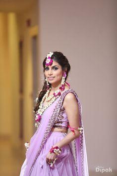Photographer - The Bride Isha! Photos, Hindu Culture, Beige Color, Bridal Makeup, Flower Jewellery, Wedding pictures, images, vendor credits - Orana Hotels and Resorts, WeddingPlz