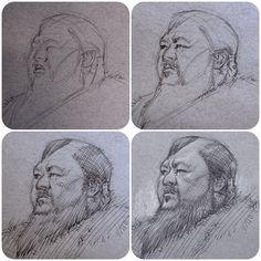 Artist Sketchbook, Sketchbook Ideas, Kublai Khan, Character Art, Character Design, Cat Skull, Marco Polo, Drawing Tutorials, Figurative Art