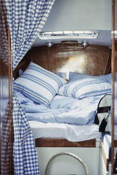 cozy on a yacht*