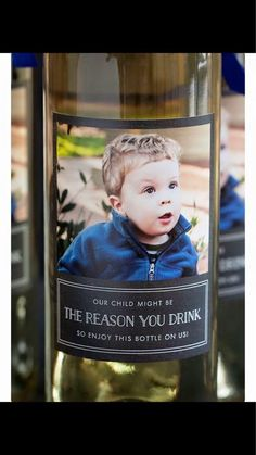 """A photo of what's being dubbed the """"Best Teacher Gift Ever"""" has more than three million views on Imgur since it was posted Wednesday on Reddit entitled, """"The most honest gift to a teacher I've ever seen."""" The image shows a wine bottle with a photo of a young boy on it, and a label that reads: """"Our child"""