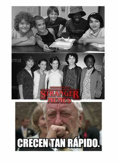 Read from the story Memes de Stranger Things by softxrw (( ͡°ᴥ ͡° ʋ)) with reads. Stranger Things Quote, Stranger Things Aesthetic, Stranger Things Netflix, Saint Anything, Starnger Things, Saints Memes, Best Tv Shows, Series Movies, Pretty Little Liars