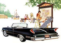 Plan59 :: Classic Car Art :: Vintage Ads :: 1960 Chrysler New Yorker