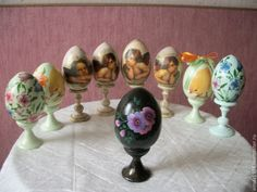 Яйца ручной работы. Ярмарка Мастеров - ручная работа Яйцо пасхальное. Handmade.