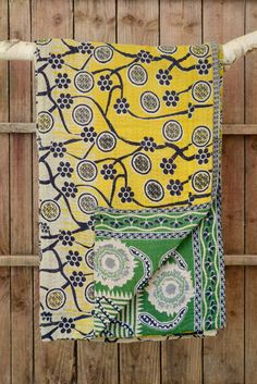 Kantha quilt 17: by