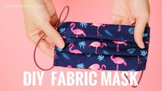 easy face mask diy sewing / mask diy no sew . mask diy no sewing . mask diy no sewing machine . diy face mask sewing pattern with filter . Sewing Tutorials, Sewing Hacks, Sewing Crafts, Sewing Tips, Beginners Sewing, Small Sewing Projects, Easy Sewing Patterns, Sewing Blogs, Knitting Projects