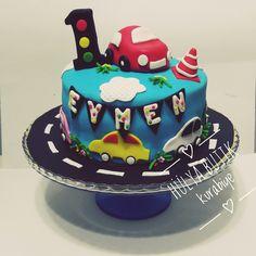 Bir yaş pastası.