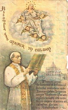 1950 Proclamation by Pope Pius XII on the Assumption