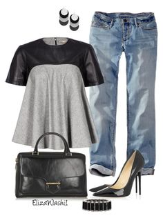 """""""Untitled #316"""" by elizawashi1 ❤ liked on Polyvore featuring Eddie Bauer, Tod's, Greenbeads and Miriam Salat"""