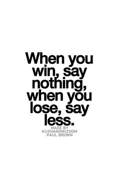 Less is more Great Quotes, Quotes To Live By, Me Quotes, Motivational Quotes, Inspirational Quotes, Great Words, Wise Words, Word Up, Words Worth
