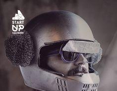 Start Up Salzburg - Corporate Identity Salzburg, Modern Logo, Corporate Identity, New Work, Riding Helmets, Behance, Gallery, Check, Design