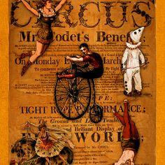 At the Circus Poster