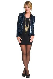Sequin Blazer with skinny jeans? For Charleston? From Rent the Runway @Natalie Mason