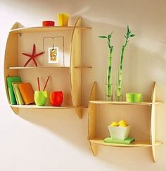 Полочки Shelving, Interior, House, Home Decor, Shelf, Natural, Stairs, Log Projects, Style