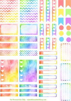 April-Life-Planner-Stickers.png 903×1,277 pixels