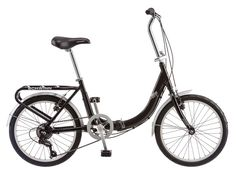 The Schwinn Loop 20-Inch (Previously known as the Schwinn Loop 7-Speed Folding Bike) is an entry level folding bicycle which offers rock-solid construction along with quick and easy unpacking and a relatively pleasurable riding experience. The bike is let down buy its excessive weight but it more than makes for it with its low price and design quality as a whole. The Schwinn Loop 20″ is perhaps the most popular sub $300 folding bike currently on the market.