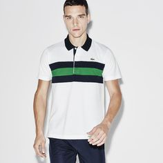 Polo Tennis Lacoste SPORT em malha superlight color block. Masculino ·  Camisa ... 35322cea67e34