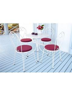 Gartenmöbel-Set im Romantik-Look