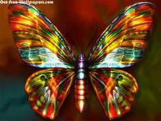 Neon Gold Butterfly Wallpaper Wallpaper mobile Added on , Tagged : at WallDiskPaper Butterfly Kisses, Butterfly Design, Butterfly Wings, Butterfly Mosaic, Rainbow Butterfly, Butterfly Pictures, Butterfly Wallpaper, Beautiful Butterflies, Fractal Art