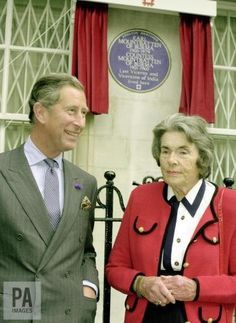 PA Royal Reporters (@PARoyal) on Twitter:  Patricia, Countess Mountbatten, has died at the age of 93 (b. February 14, 1924-d. June 13, 2017); elder daughter of Louis Mountbatten and the former Edwina Ashley, married John Knatchbull, Lord Brabourne, with whom she had 8 chidlren; Patricia was a first cousin of the Duke of Edinburgh, a distant cousin of Queen Elizabeth, who was a bridesmaid at her wedding, and godmother to the Prince of Wales, pictured above.