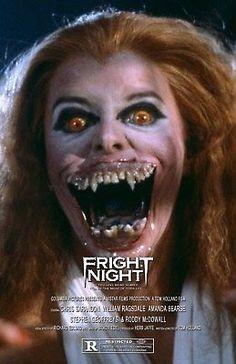 Vampire Film, Female Vampire, Vampire Art, Horror Movie Posters, Horror Films, Amanda Bearse, Chris Sarandon, Horror Artwork, Rocky Horror Picture Show