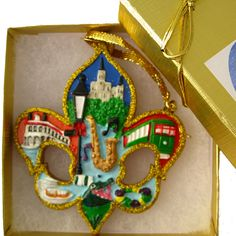 New Orleans Christmas Ornaments.59 Best New Orleans Christmas Ornaments Images In 2019 New