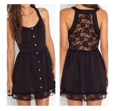 black casual dress | Casual black dress | Style + Fashion