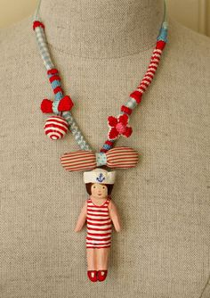I love the idea of creating a necklace that can can be personalised