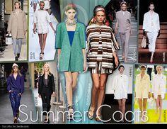 SS13 Summer Coats Trend