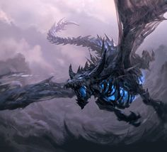 Ancient dragon Sindragosa, from World of Warcraft Wrath of the Lich King
