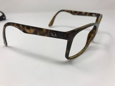 0f3fc69f91142 Ray Ban Sunglasses RB 4232 710 13 57mm Tortoise Italy Square Frame Only  JS89