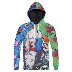 Harley Quinn 3D Print Sweatshirt Hoodie