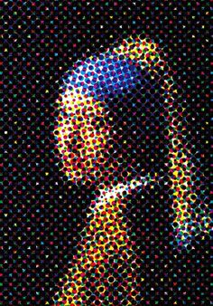 Vermeer Remixed by Graphic Nothing, via Flickr