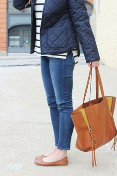 jillgg's good life (for less) | a west michigan style blog: my everyday style: classic navy!