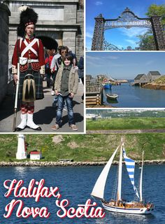 Countries I've been to - Canada - Halifax in Nova Scotia, Canada. We were here on our New England and Canada Cruise