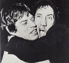 Mick Jagger and Pete Townshend