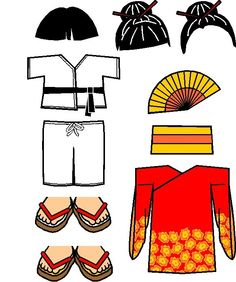 Japanese Friends Full Colour Costume, just print. Chinese New Year Activities, New Years Activities, Nouvel An Chinois Diy, China Way, Costume Chinoise, Japanese Costume, Japan Outfit, Turning Japanese, Thinking Day