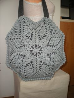 Ravelry: Octagon Pineapple bag by emmhouse