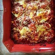 ravioli lasagna ravioli lasagna print ingredients ½ pound ground beef ...